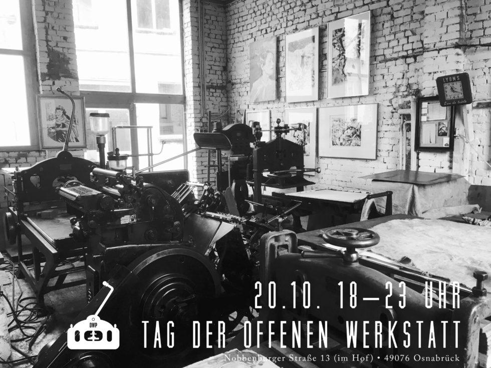 Offene Werkstatt 2017 Herbst